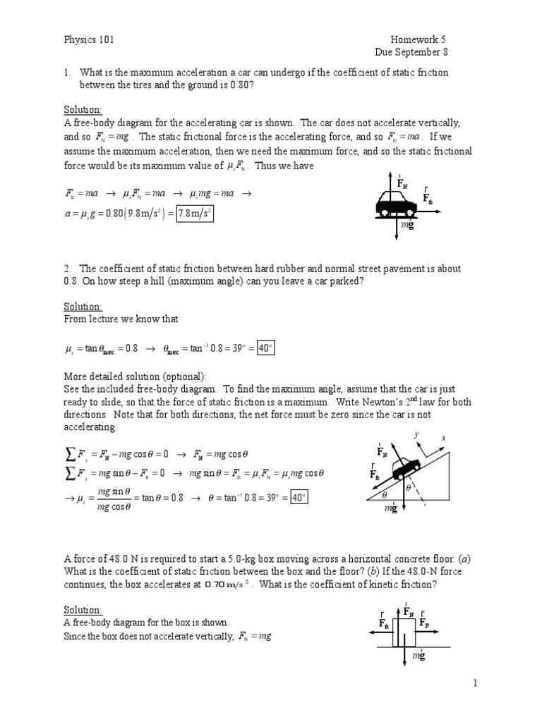 Hw05 Solutions