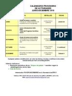 Calendario EPA Jun-Dic 2010