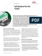 Push vs Pull Systems in Retail Supply Chain 2014.1