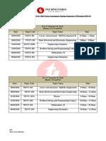 MTA 1st Year UG Schedule (Spring-2016)