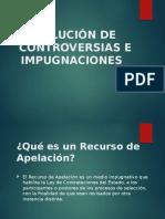 Solución de Controversias e Impugnaciones (2)