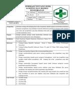 7.4.3.5 SPO Informasi Ttg Efek Samping Dan Resiko Pengobatan