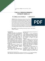 Article 9 - Visual Merchandising Window Display