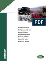 Defender TD5 Workshop Manual