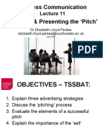 Business Communications Lecture 11 ELP
