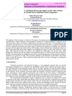 Corporate Governance and Financial Lever