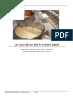 Livre Blanc Process Batch