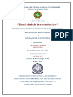 Dual clutch transmission