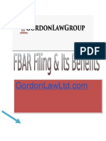 FBAR Filing & Its Benefits