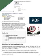 Pengelompokan Jalan - Wikipedia Bahasa Indonesia, Ensiklopedia Bebas