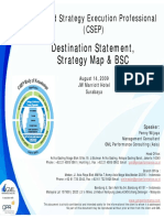 Strategy Map & BSC