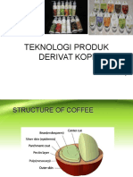 Teknologi Produk Derivat Kopi