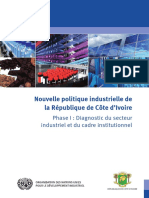 Industrial Policy Report Cote d Ivoire Oct 2012
