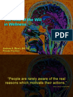 The Role of the Will in Wellness