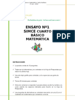 Avs Simce 4to Matematica