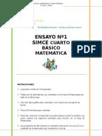 Avs Simce 4to Matematica