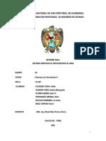 Informe Final Sistemas Informacion II - Equipo 10 en este infome sera de guia para que puedeas realizar tus perfivles en trabajos del curso de sisemas de informacion gerencial