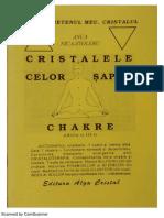Cristalele Celor 7 Chakre