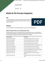BAdIs for the Process Integration - SAP Dispute Management Configuration Guide for FI-AR - SAP Library