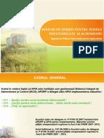 Măsuri de Sprijin Pentru Zonele Defavorizate Şi Agromediu
