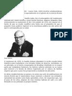 Biografía de Isaac Asimov.