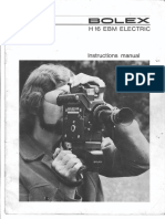 Bolex h16 Ebm Electric Manual