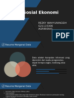 STATISTIK SOSIAL EKONOMI