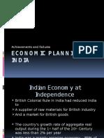 Economic Planning in India