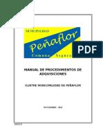 Manual de Procedimientos de Compras y Adquisiciones 5