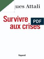 Attali - Survivre Aux Crises