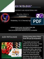 Ppt Judi Patologis