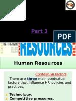 Human Resources (Part 3)