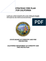 2010 Strategic Fire Plan for California