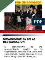 Personal y funciones en hoteles