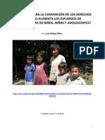 CONVENCIÓN DE LOS DERECHOS DEL NIÑO Y PROTAGONISMO INFANTIL