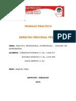 Analisis de Expediente - Procesal Penal 2016