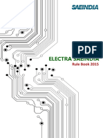 Electra SAEINDIA 2015 Rule Book