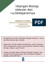 Prof_ Sutiman - Biologi Molekuler Dan Pembelajarannya