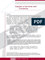 Organizacoes e Carreiras Sem Fronteiras