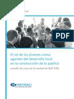 El rol de los jóvenes como agentes del desarrollo local en la construcción de lo Público