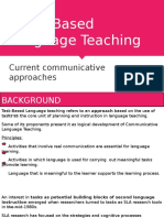 Task - Based Language Teaching