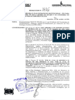 Res Nº 1816_16_PEI (Plan Estratégico Institucional)