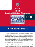 2014 NFHS Football Rules PowerPoint.ppt