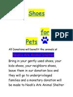 Shoes for Noahs Ark