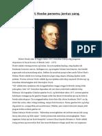 Biografi Robert Hooke Penemu Jenius Yang Terlupakan