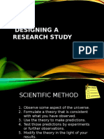 Designing a Research Study
