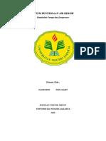 Tugas I UTS - Artikel Sistem Penyediaan Air Bersih