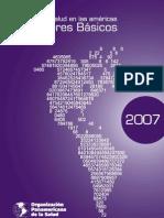indicadores de salud OPS 2007