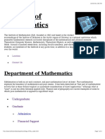 IM | Department of Pure Mathematics_HomePage
