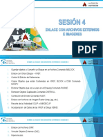 Autocad 2016 Int Sesión 4 Presentación